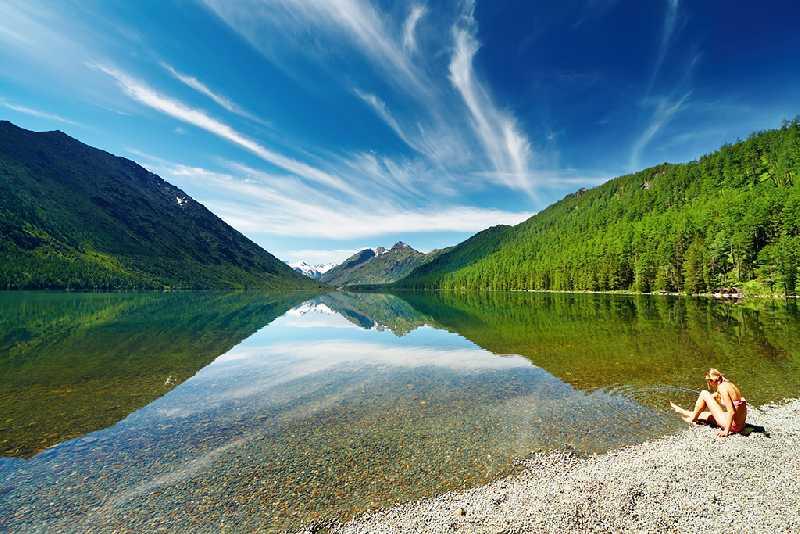 Конная экспедиция к озеру Уймень