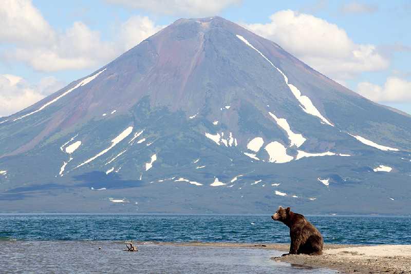 Поход по Камчатке к трем вулканам