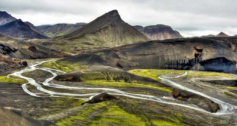 Трекинг в Исландии