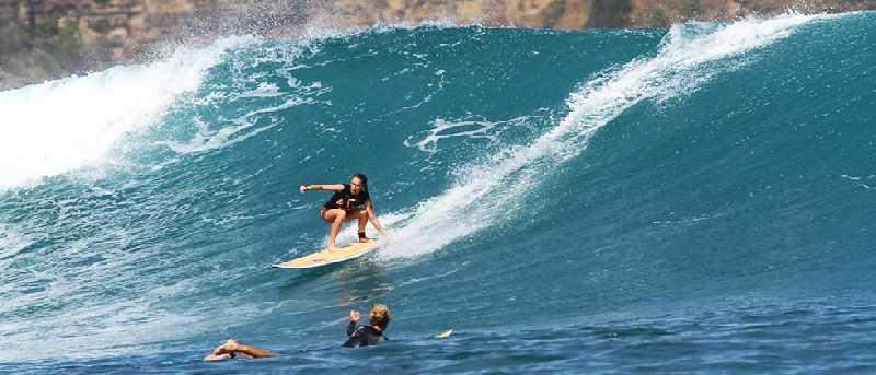 Серфинг на Бали в конце ноября- начале декабря