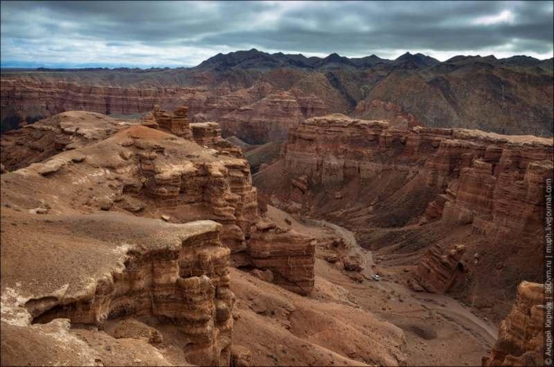 Прилет в Алма-Ату. ЮБИК, южный берег озера - соленый затон, розовый каньон, золотые прииски и пр....