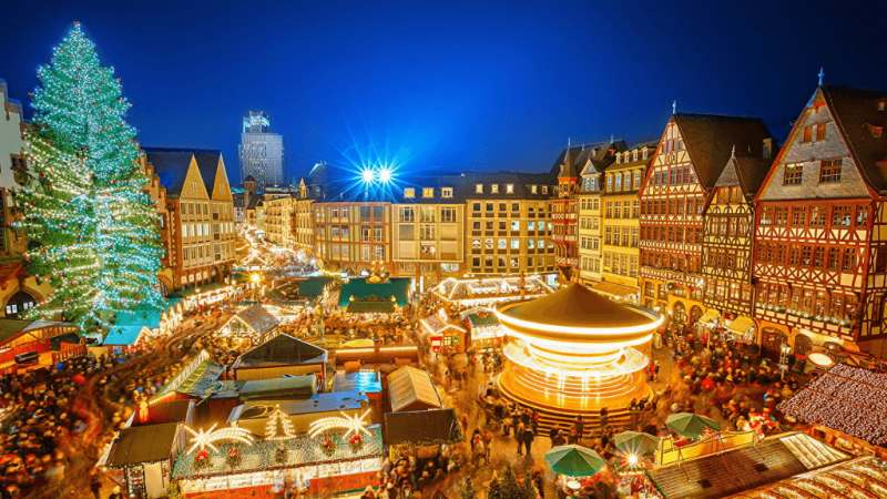 Рождество в Европе!!