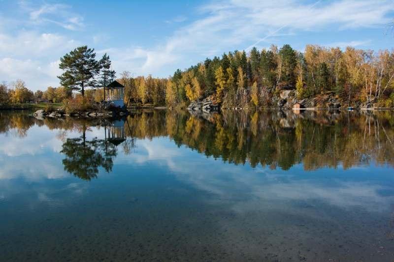 Горный Алтай, озеро Ая