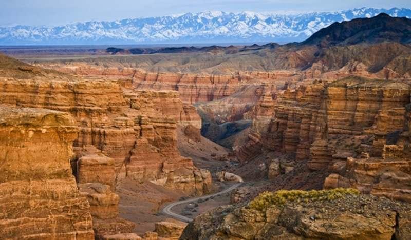 Казахстан и Киргизия! Горы, каньоны, водопады и озера