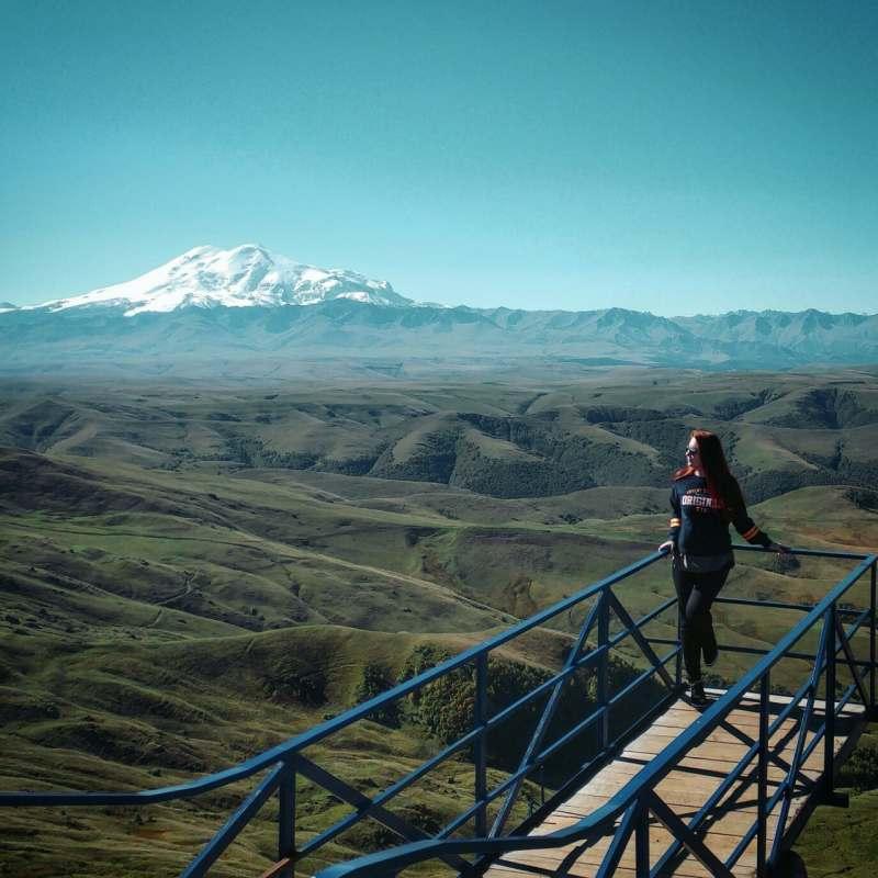 Горы, озера и водопады Северного Кавказа