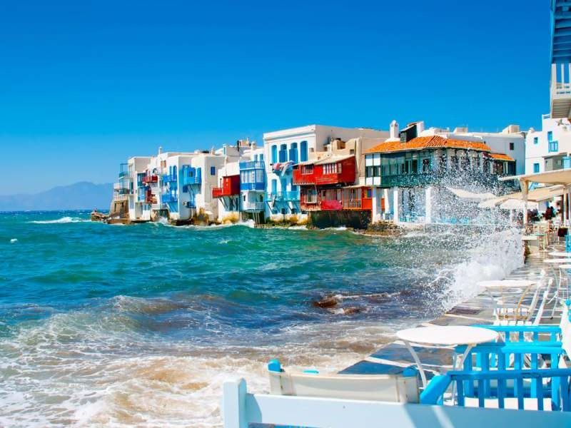 Недельный переход по греческим островам