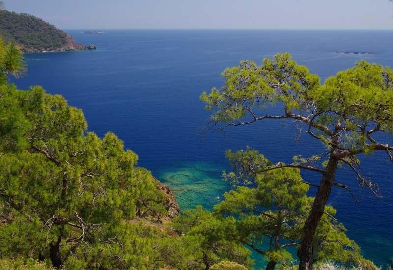 Активный отдых в Турции, море, треккинги.