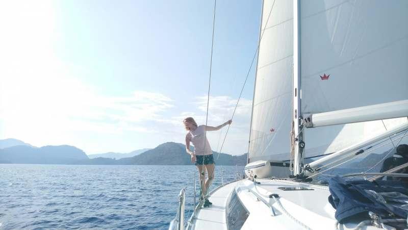 Круиз на яхте по средиземноморью