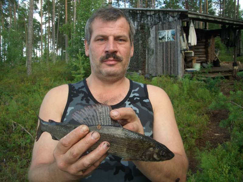 Карелия Топ озеро 2007