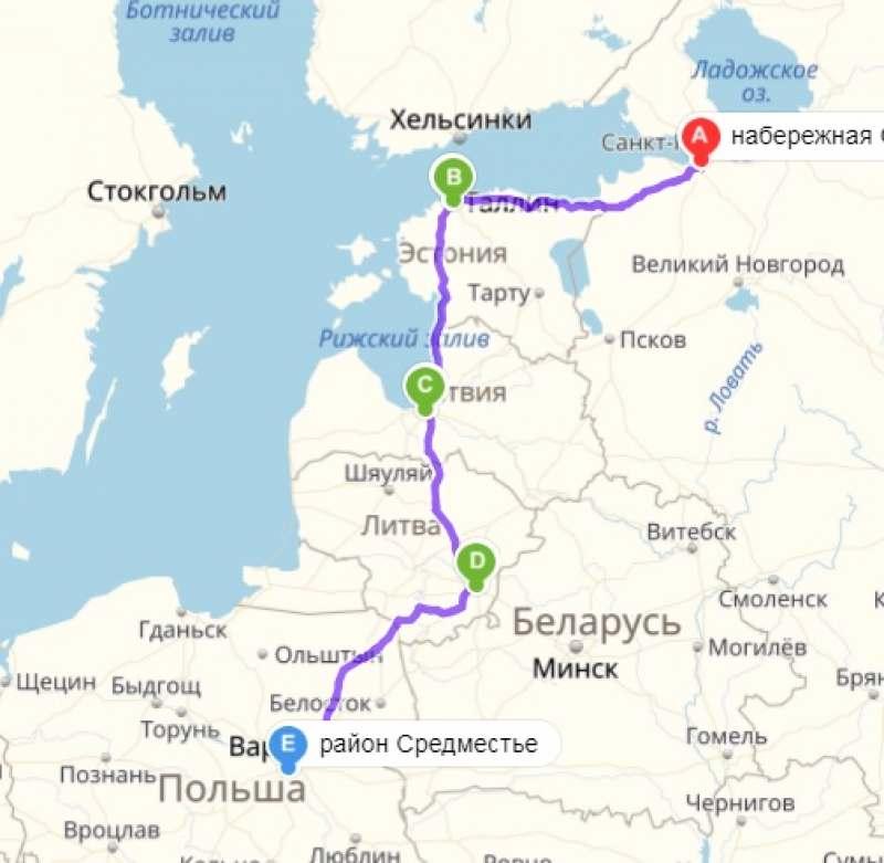 Небольшой евротур по ближайшим странам на автобусах и блаблакарах по маршруту...