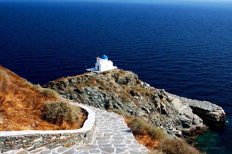 На яхте по Кикладским островам (Греция). 3.08 - 10.08.2019