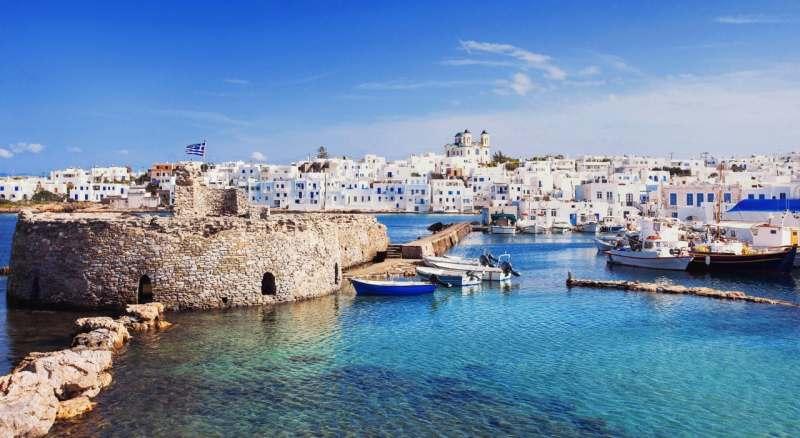 Яхтенное путешествие по Кикладским островам (Греция)