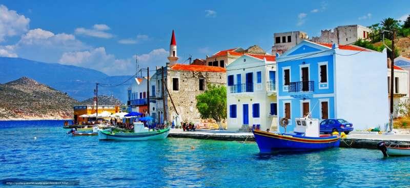 Поход на парусной яхте, Кикладские острова, Греция.