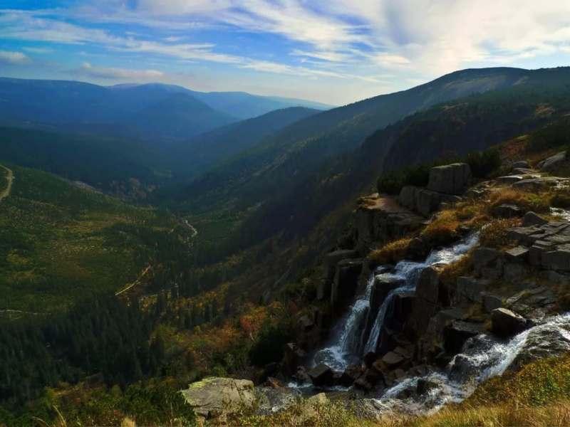 Отдых в горах Крконоше в Чехии с элементами трекинга
