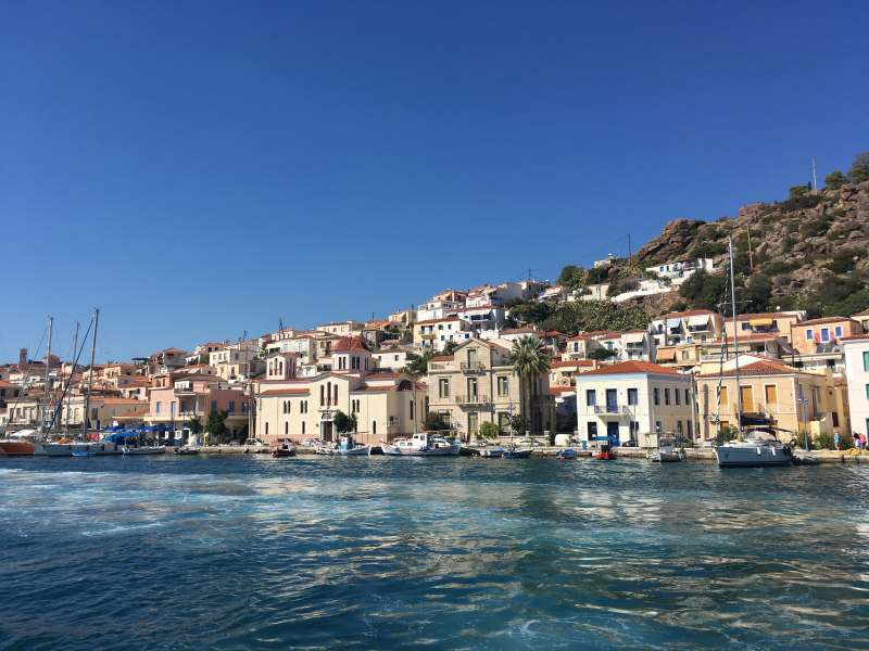 Путешествие на частной яхте Анастасия по Греческим островам
