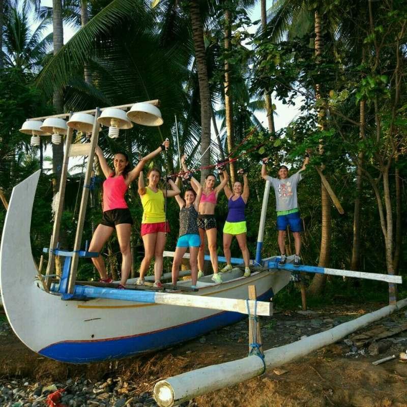 Фитнес-тур на Бали : 4-й сезон