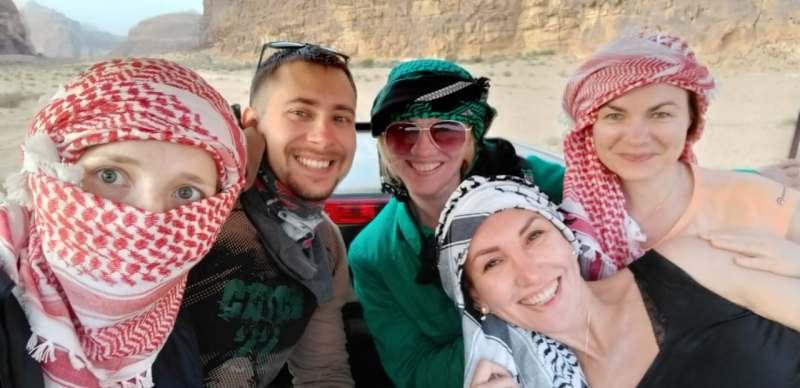 Ноябрьские праздники в Иордании