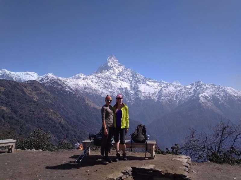 Трекинг к базовому лагерю Марди Химала