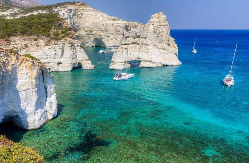 Майские праздники на яхте в Греции