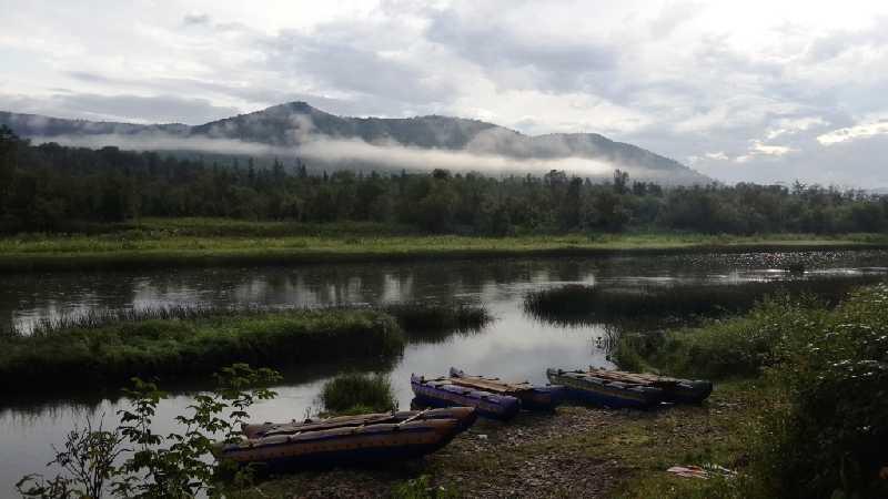 Сплав на катамаранах по реке Зилим