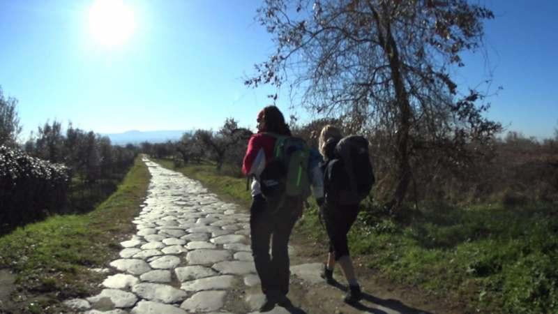 Поход без палаток по древнему Пути Франков (Италия)!