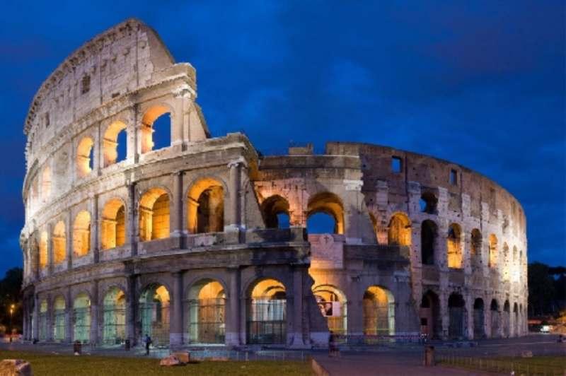 Первая поздка в Италию