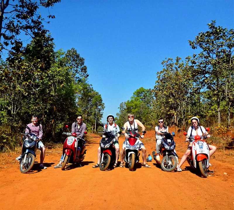 Трип по Таиланду на байках (скутерах)