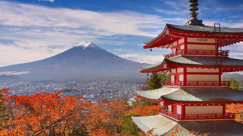 Сказочная осень в Японии!