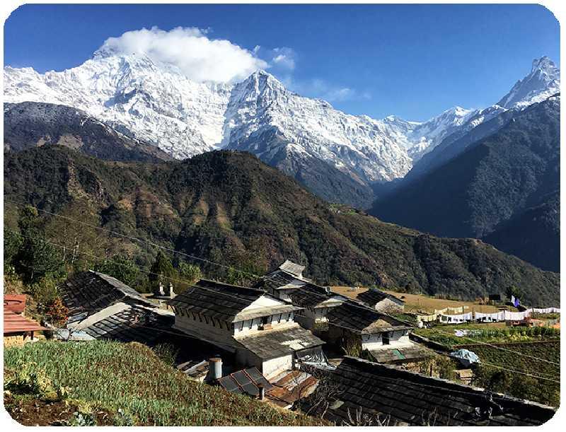 Знакомство с Непалом + Пунхилл трекинг