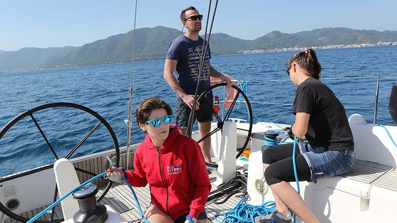 Поход на парусной яхте в залив Фетхие к Ликийским гробницам