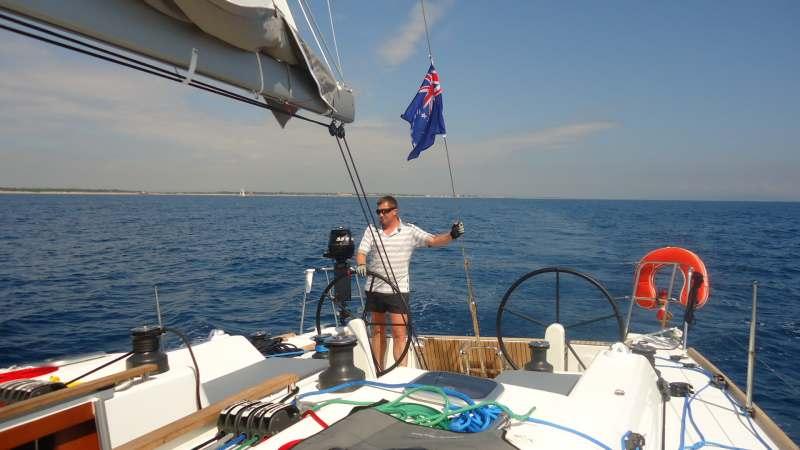 На парусной яхте из Мармариса в Даламан