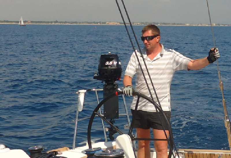 На парусной яхте по заливу Фетхие