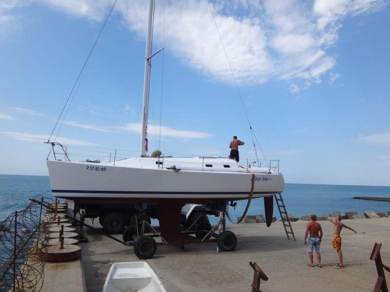 Сочи-Керчь и обратно, неделя в команде парусной яхты.