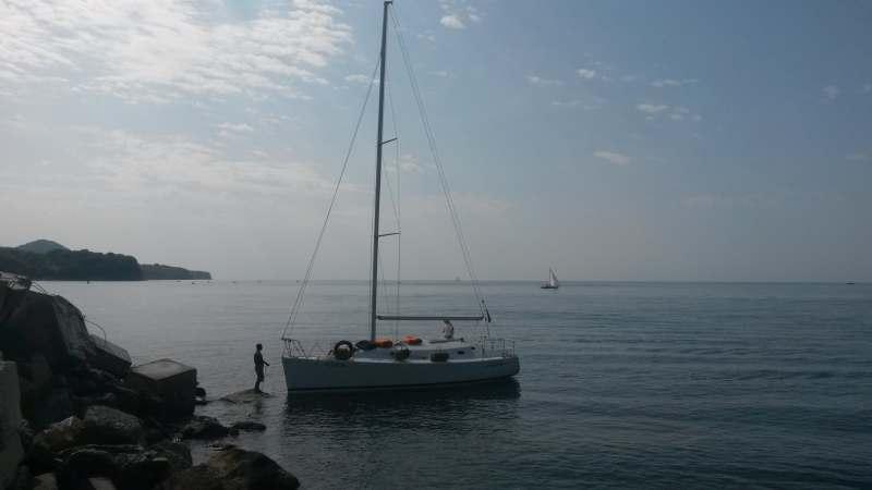 На парусной яхте по побережью Черноморскому побережью Кавказа и далее вдоль южного берега Крыма....