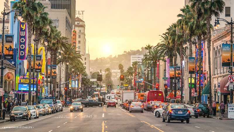Западная часть США. Лос Анджелес - Лас Вегас - Сан Франциско