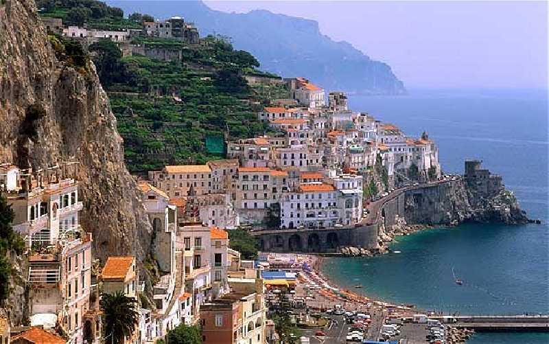 Италия - Провинция Кампания, Амальфитанское побережье