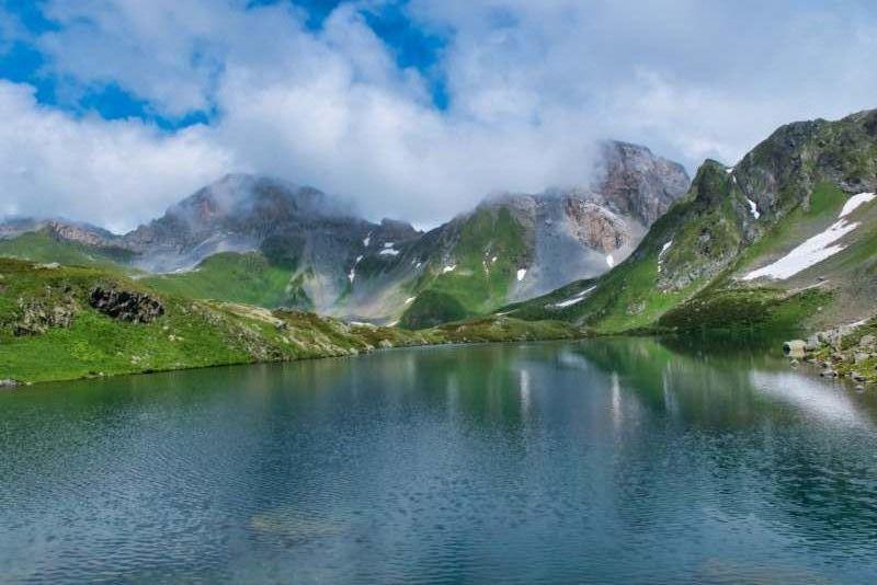 Поход по Кавказу. Архыз по хребту Абишира-Ахуба