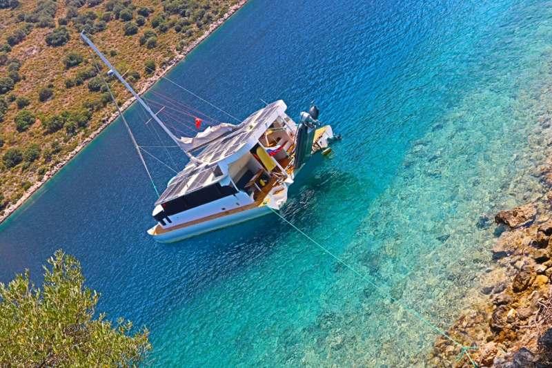 Яхтинг. Морское путешествие на парусном катамаране в Турции. Перелет до Даламан 750евро/чел...