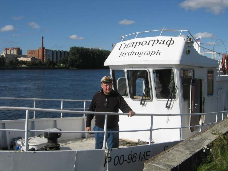 На яхте на Сайму (Финляндия). Санкт-Петербург – Савонлинна - Выборг. Поход на моторном судне...
