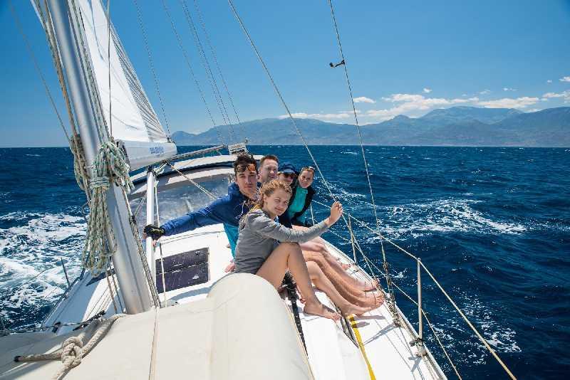 Яхтинг по островам Греции