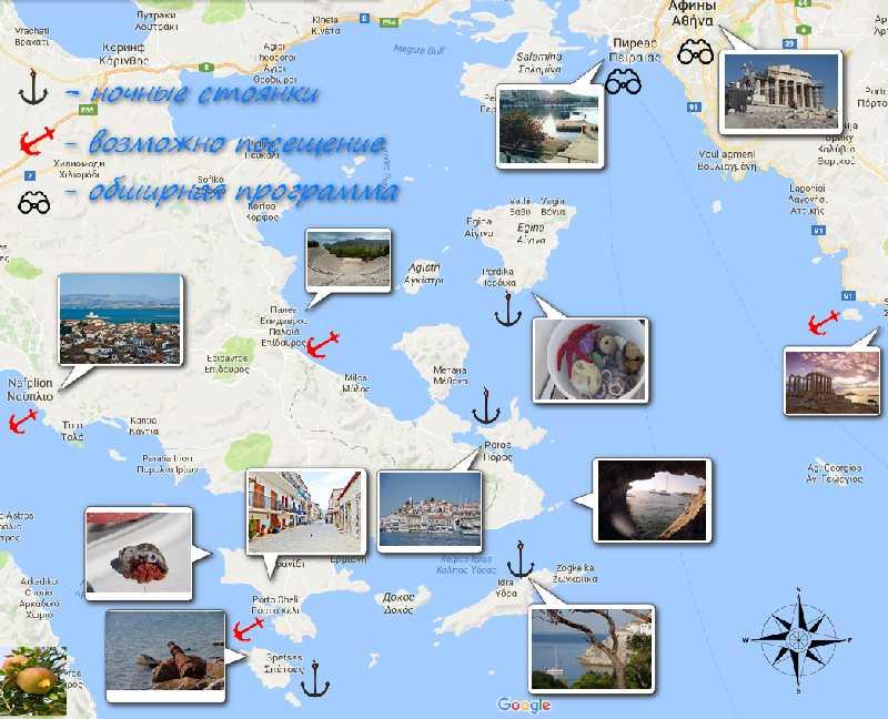 Гастрономические каникулы на яхте