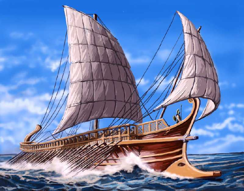 На парусах истории