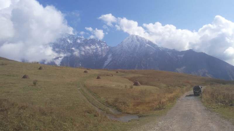 Тур по осенней Сванети.