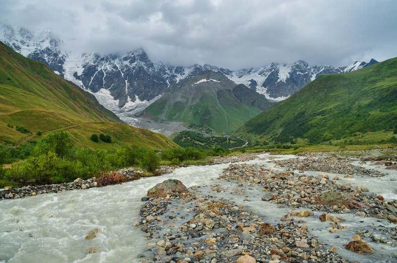 Тур с посещением высот Кавказа.
