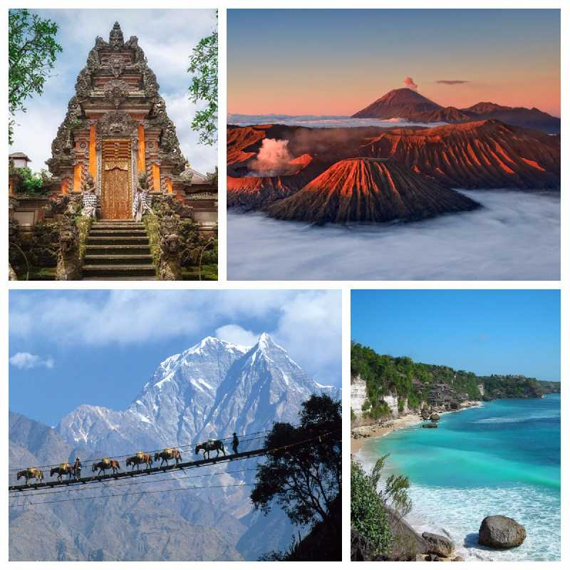 От Непала до Индонезии