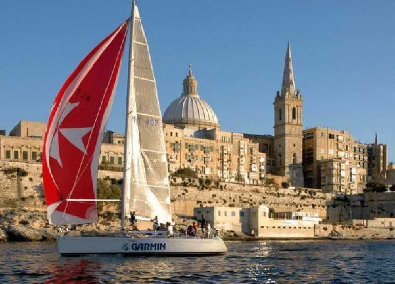 Вокруг Мальты на парусной яхте с 6 по 13 мая 2017