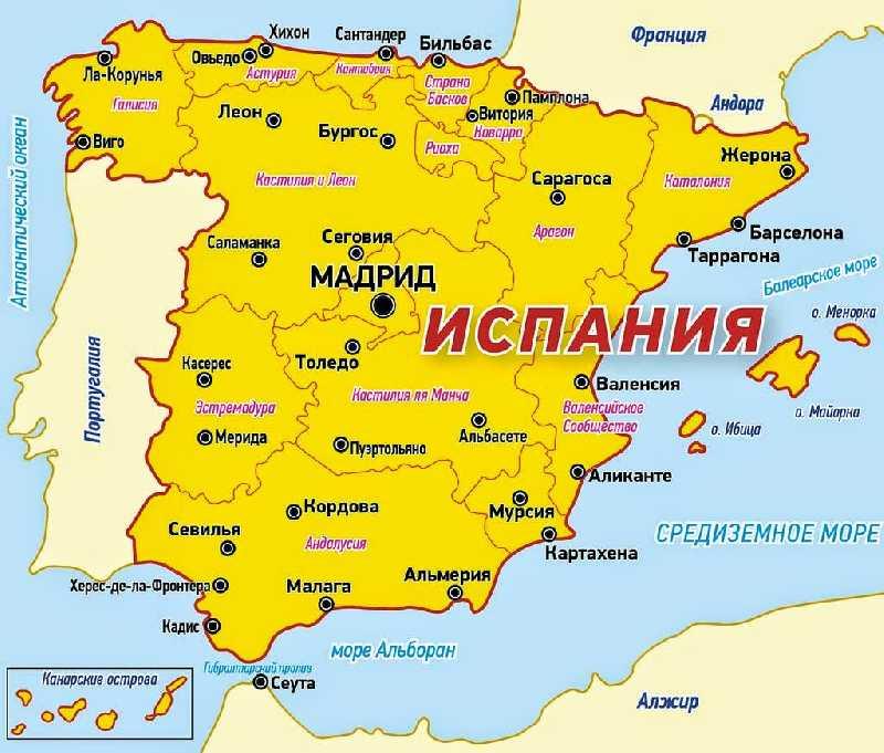Испания-Португалия 17 августа -1 сентября