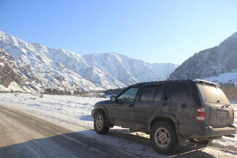 На внедорожнике через весь Алтай на Укок