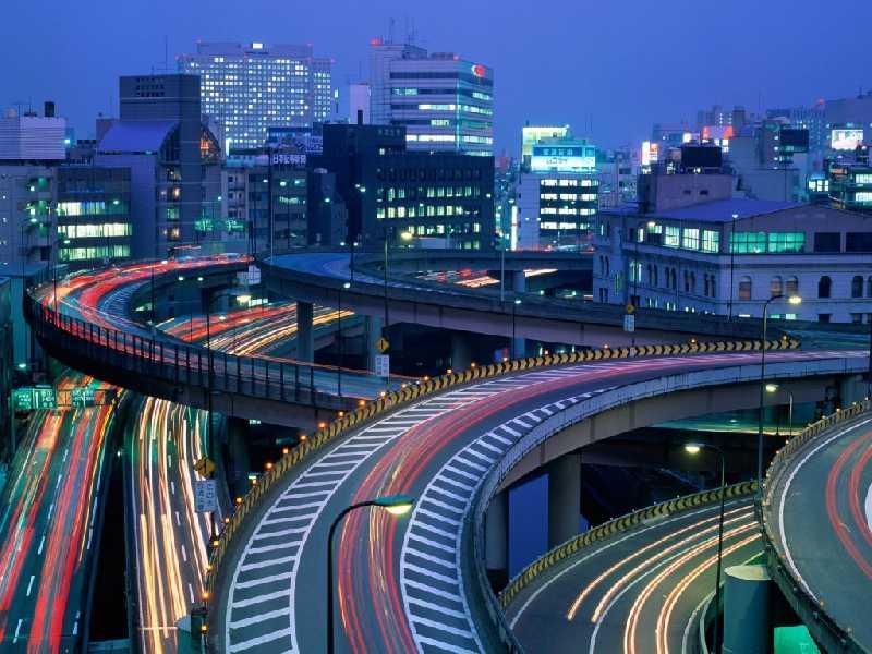 Япония! Сочетание древних традиций и технологий.