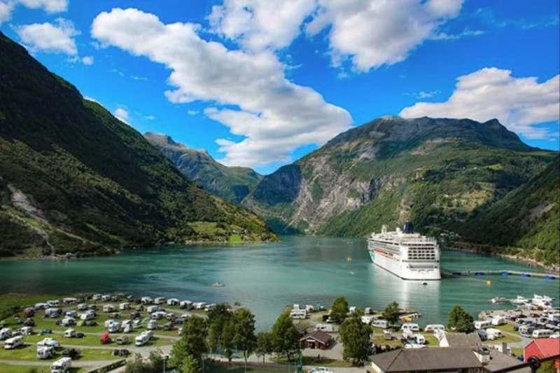 Норвегия - фьорды